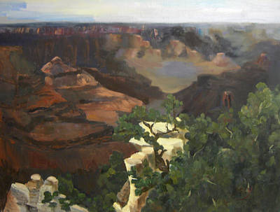 Grand Canyon Art Print by Marcy Silverstein