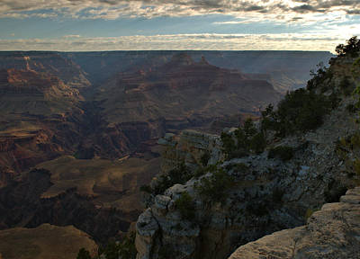 Art Print featuring the photograph Grand Canyon Monring by Stephen  Vecchiotti