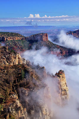 Photograph - Grand Canyon Morning by Carolyn Derstine