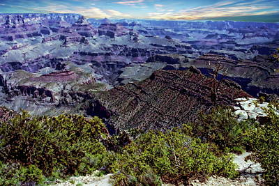 Photograph - Grand Canyon National Park  by Anthony Dezenzio