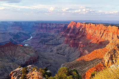 Shadows Photograph - Grand Canyon National Park, Arizona by Javier Hueso
