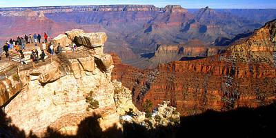 Photograph - Grand Canyon National Park Arizona Panorama by Peter Potter