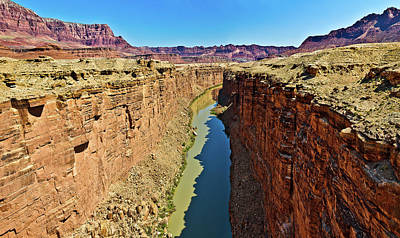 Photograph - Grand Canyon National Park Colorado River by Bob and Nadine Johnston