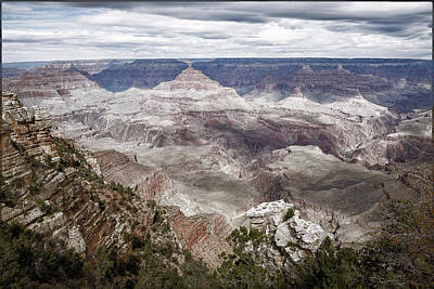 Photograph - Grand Canyon No. 2 - Toned by Belinda Greb