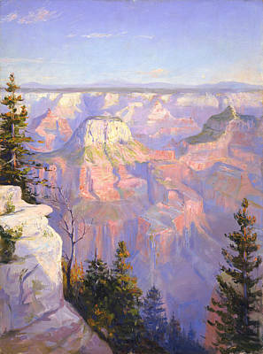 Grand Canyon North Rim Art Print by Lewis A Ramsey