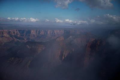 Photograph - Grand Canyon North Rim Vista Encantada 3 by Frank Madia