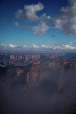 Photograph - Grand Canyon North Rim Vista Encantada by Frank Madia