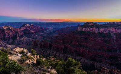 Photograph - Grand Canyon North Rim by Ziming Zheng