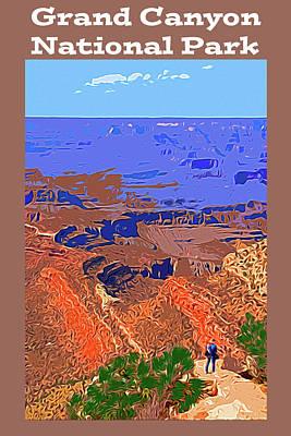 Digital Art - Grand Canyon Np by Bruce