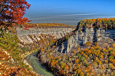 Photograph - Grand Canyon Of The East by William Norton