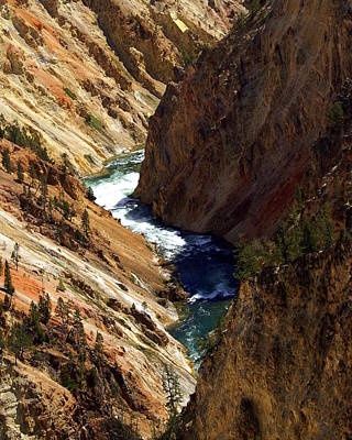 Grand Canyon Of The Yellowstone 1 Art Print by Marty Koch