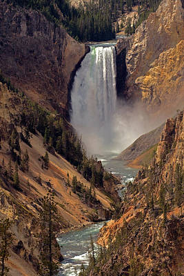 Photograph - Grand Canyon Of The Yellowstone by Robert Pilkington