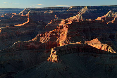 Photograph - Grand Canyon Red Glow by Pierre Leclerc Photography