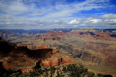 Photograph - Grand Canyon Shadow by Christopher Kirby