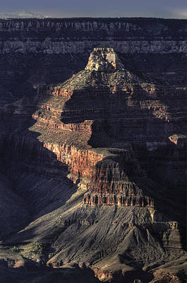 Photograph - Grand Canyon Shadows by Don Wolf