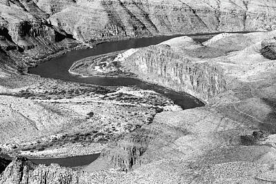 Photograph - Grand Canyon South Rim 18 Bw by Mary Bedy