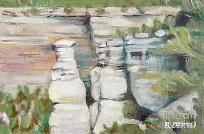 Painting - Grand Canyon, South Rim 2 by Barbara Oertli