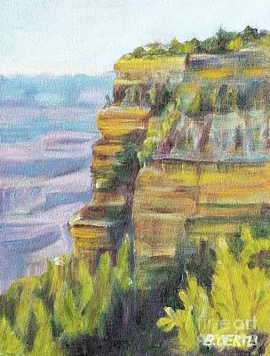 Painting - Grand Canyon, South Rim 4 by Barbara Oertli
