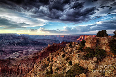 Photograph - Grand Canyon South Rim Sunset by Alissa Beth Photography