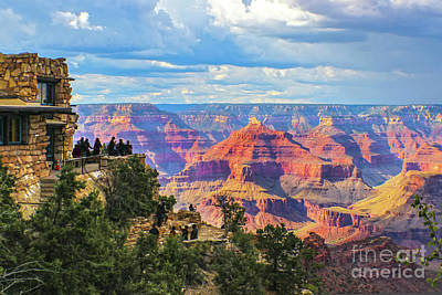 Curated Beach Towels - Grand Canyon South Rim View by Susan Vineyard