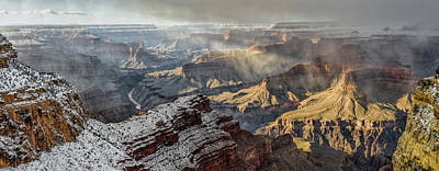 Mcherdering Photograph - Grand Canyon Storm by Mike Herdering
