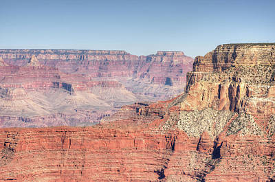 Photograph - Grand Canyon Strata by Ray Devlin