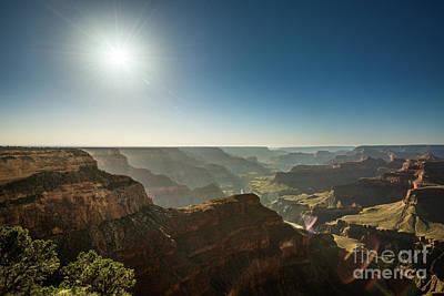 Grand Canyon Sun Art Print