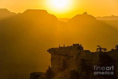 Photograph - Grand Canyon Sunrise by Michaela Urban