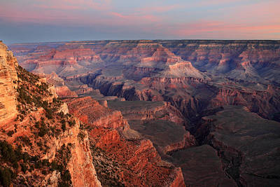 Edge Photograph - Grand Canyon Sunrise by Pierre Leclerc Photography