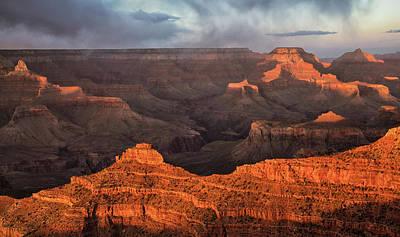 Photograph - Grand Canyon Sunset  by Art Cole