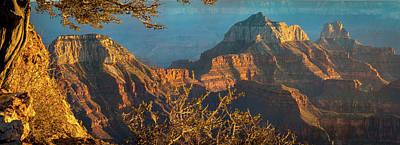 Grand Canyon Sunset Panorama Art Print