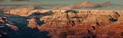 Photograph - Grand Canyon Sunset Panorama  by Teresa Wilson