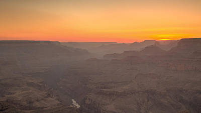 Photograph - Grand Canyon Sunset by Susan Rissi Tregoning
