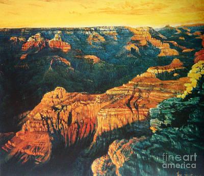 Grand Canyon Art Print by Tierong Fu