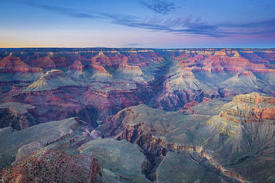 Photograph - Grand Canyon - Twilight Magic by Alexander Kunz