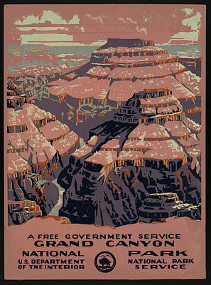 Grand Canyon Art Print by Unknown