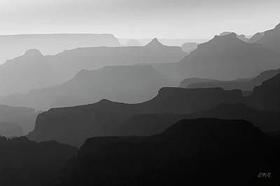 Photograph - Grand Canyon V Bw by David Gordon