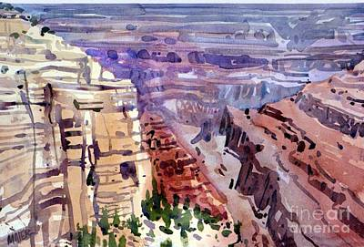 Painting - Grand Canyon View by Donald Maier