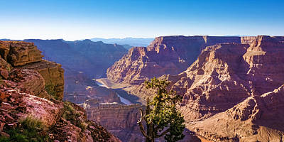 Photograph - Grand Canyon View by Lutz Baar