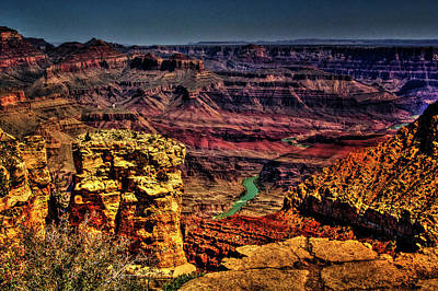 Photograph - Grand Canyon Views No. 12 by Roger Passman