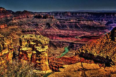Photograph - Grand Canyon Views No. 12 by Roger Passman