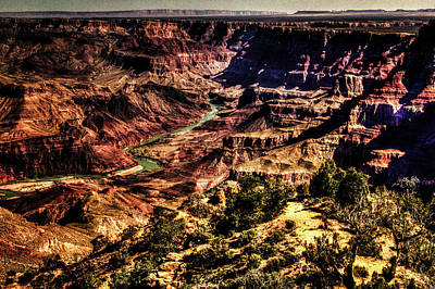 Photograph - Grand Canyon Views No. 13 by Roger Passman