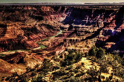 Photograph - Grand Canyon Views No. 13 by Roger Passman