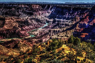 Photograph - Grand Canyon Views No. 3 by Roger Passman