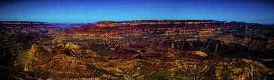 Photograph - Grand Canyon Views Panorama No. 4 by Roger Passman