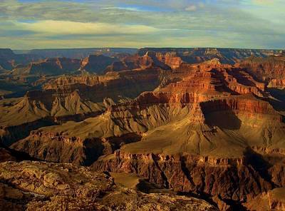 Photograph - Grand Canyon Vista by Carolyn Jacob