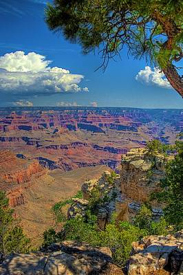 Grand Canyon Vista Art Print