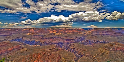 Grand Canyon Art Print by William Wetmore