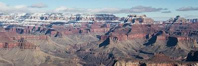 Photograph - Grand Canyon Winter Afternoon Panorama by Teresa Wilson