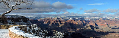 Photograph - Grand Canyon Winter Vista by Martin Sullivan